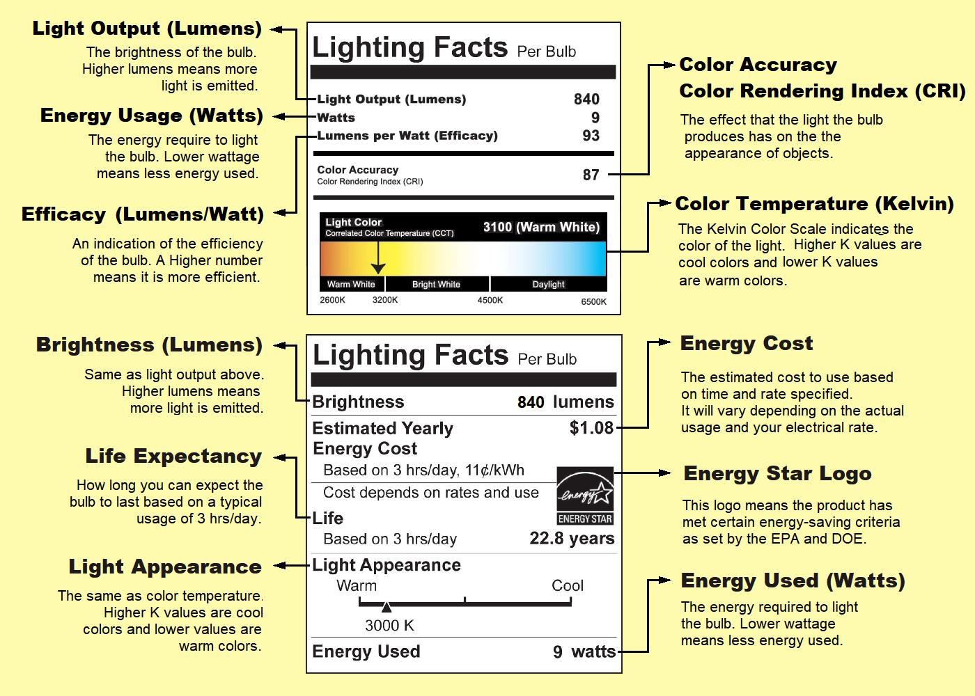 Light Bulb Basics